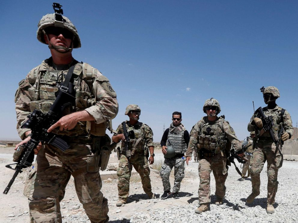 USA  announces Afghan troop pullout
