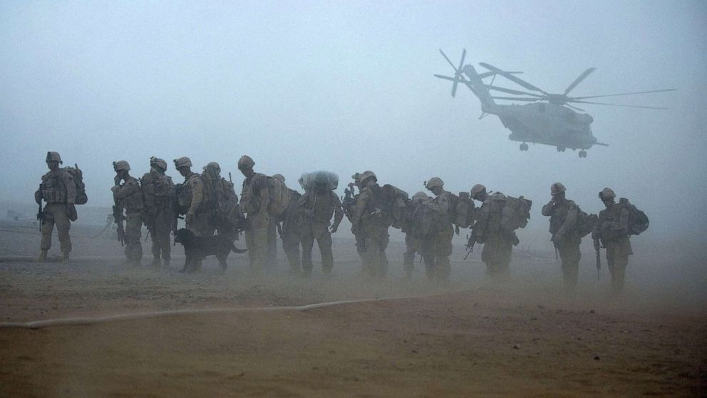 Biden's US forces exit could doom Afghan peace talks between Taliban, government