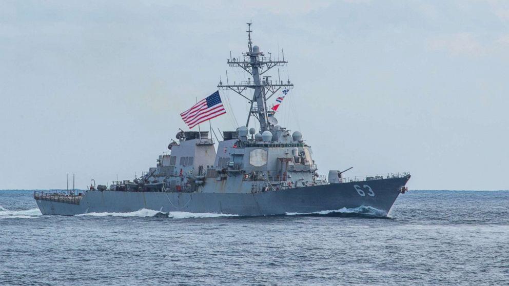 2 US Navy ships sail through Taiwan Strait -- again -- 5th time in 8 months thumbnail