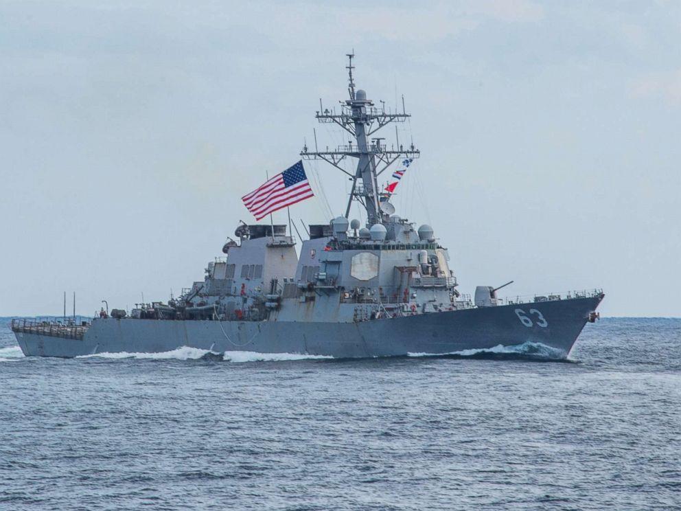 2 US Navy ships sail through Taiwan Strait -- again -- 5th time in 8 months  - ABC News