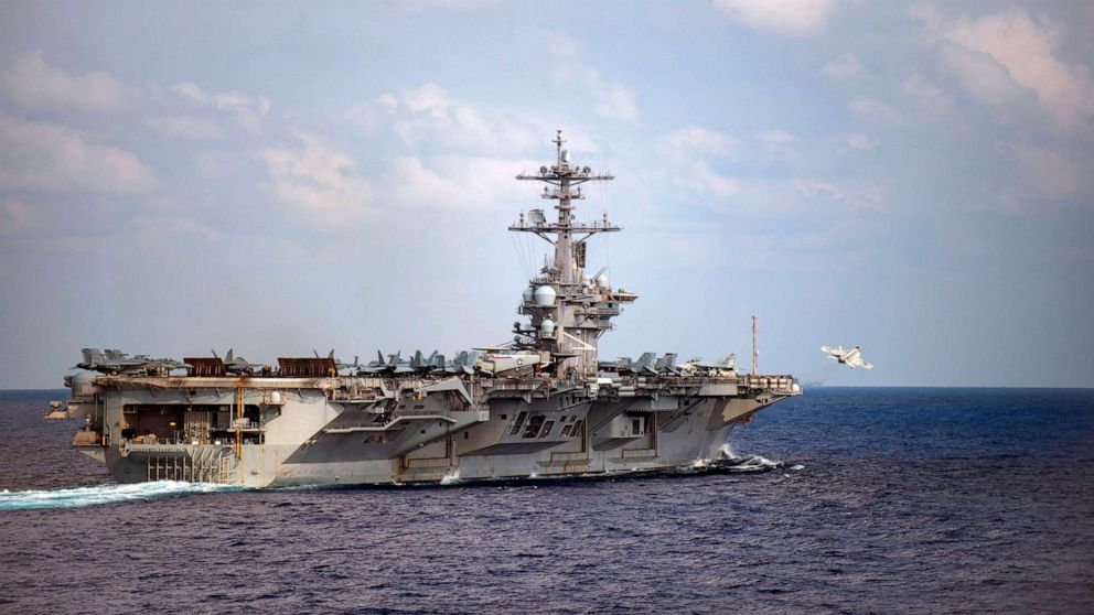Captain of aircraft carrier struck by coronavirus wants sailors off ship