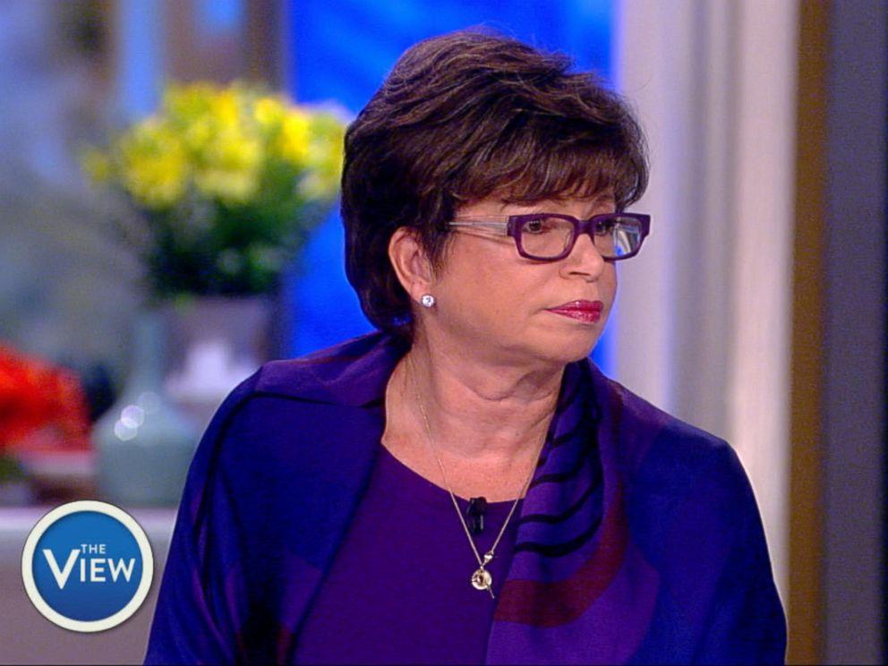PHOTO: Valerie Jarrett appears on The View, Feb. 7, 2018.