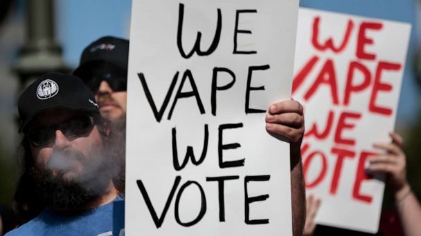 Amid increased attention on e-cigarette bans, vaping advocates turn to 2020 election