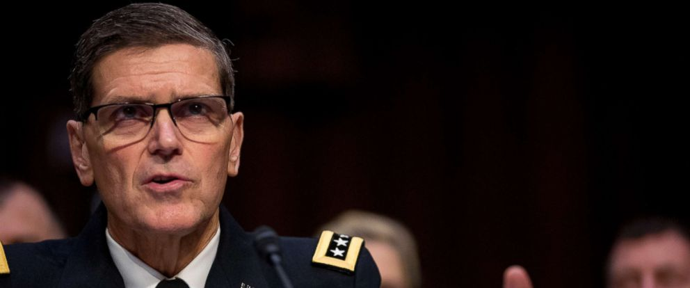 PHOTO: U.S. Central Command Commander Gen. Joseph Votel appears at a Senate Armed Services Committee hearing on Capitol Hill, Feb. 5, 2019.