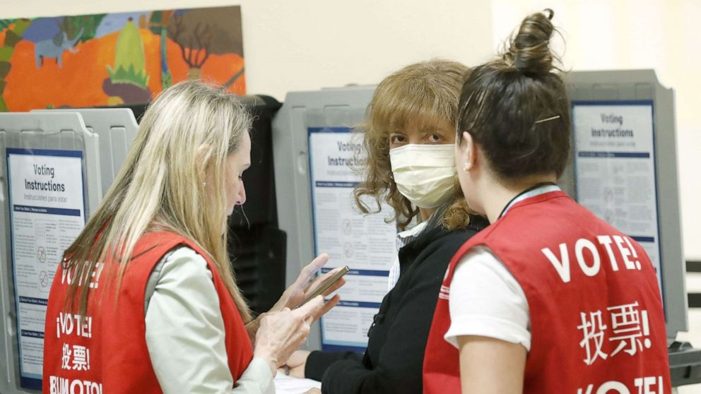 Election officials prepare for challenge of coronavirus ahead of Tuesday's primaries thumbnail