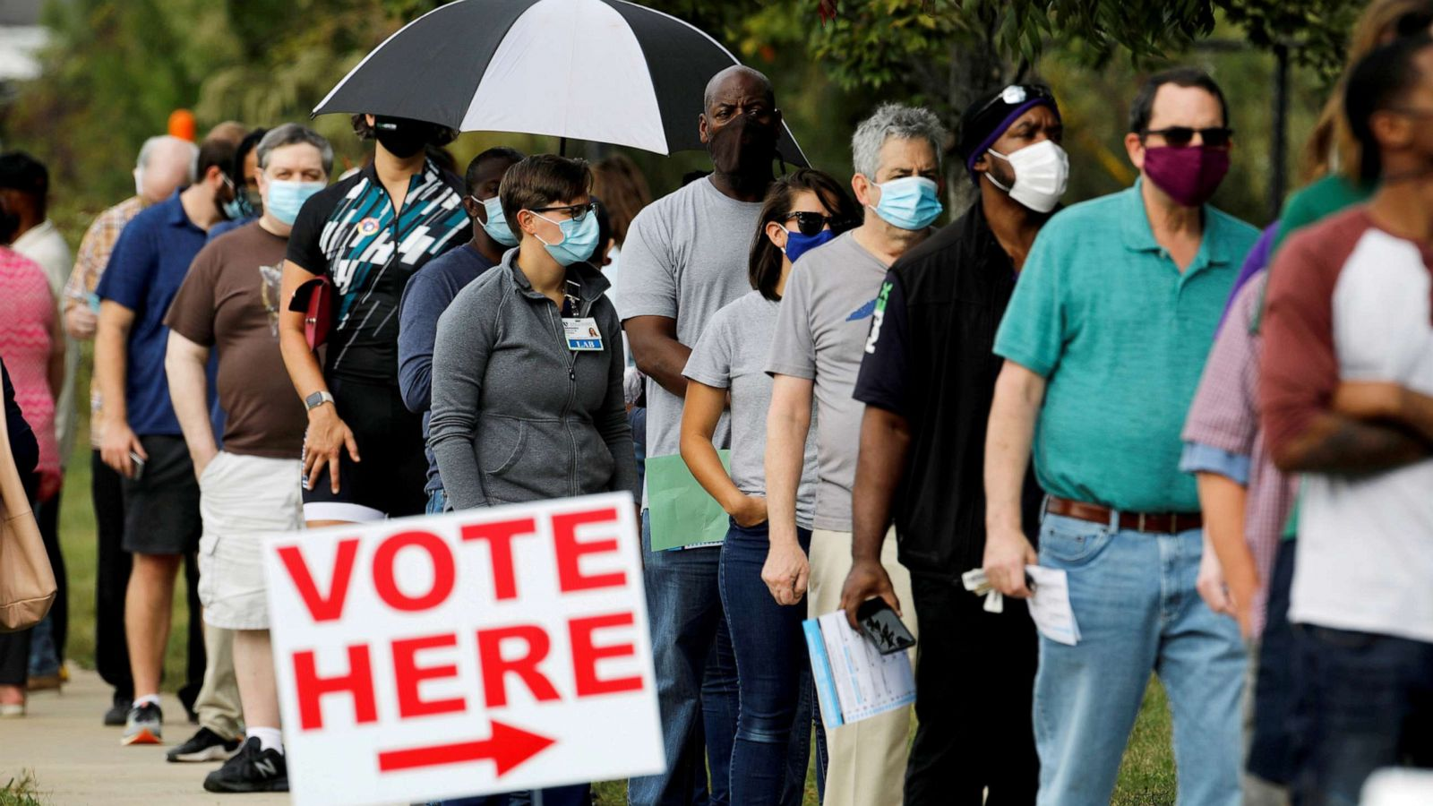 The Note Early Vote Explosion Show System Working With Stress Tests Ahead Abc News