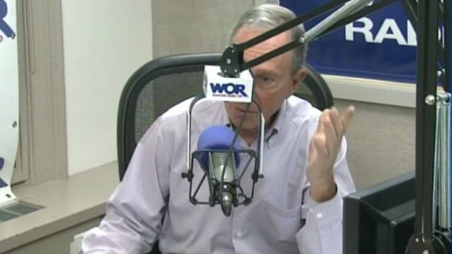 VIDEO: New York City mayor wants answers from Obama and Romney on how to stop gun violence.