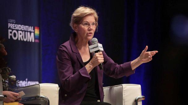 Elizabeth Warren highlights violence against transgender women of color, reads names of those killed this year