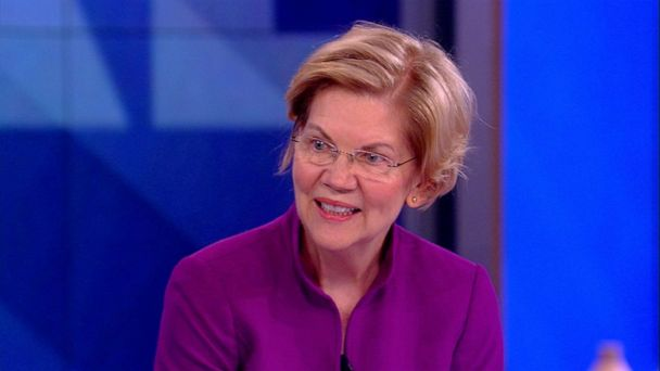 Sen. Elizabeth Warren on 'The View': If Trump weren't president 'he'd be in handcuffs'