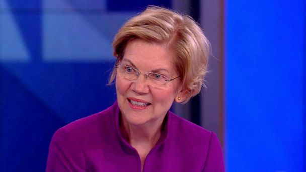 Sen. Elizabeth Warren on 'The View': If Trump weren't president 'he'd be in handcuffs'