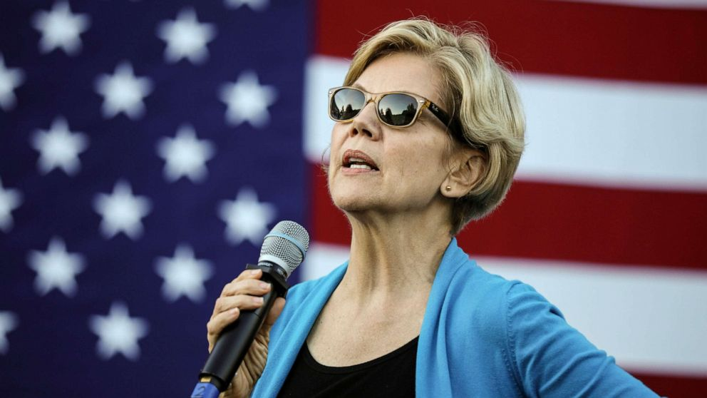 Warren shifts stance on big money fundraisers in general election