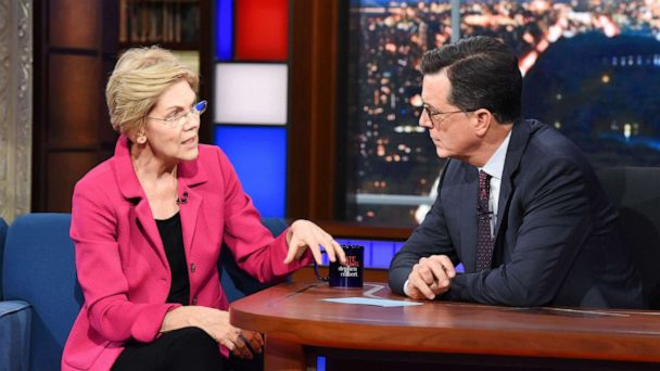 The Note: Warren draws new attention and scrutiny