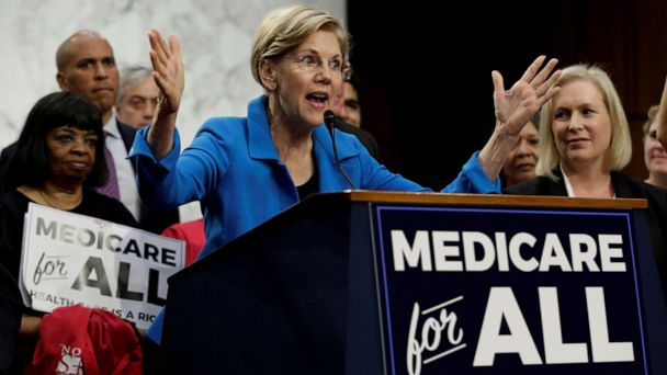Warren's 'Medicare for All' plan wouldn't be fully realized for 3 years
