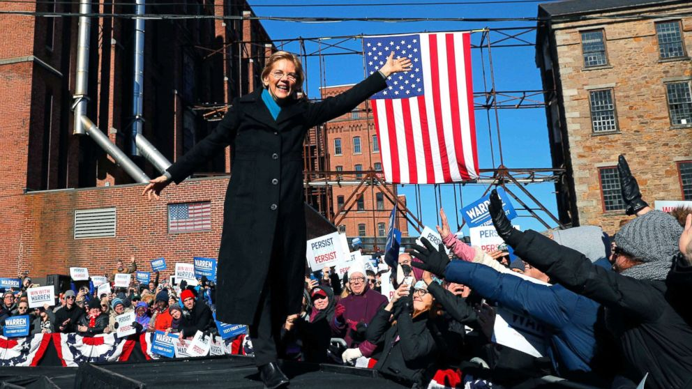 Elizabeth Warren announces 2020 presidential launch in Massachusetts: 'This is the fight of our lives' thumbnail