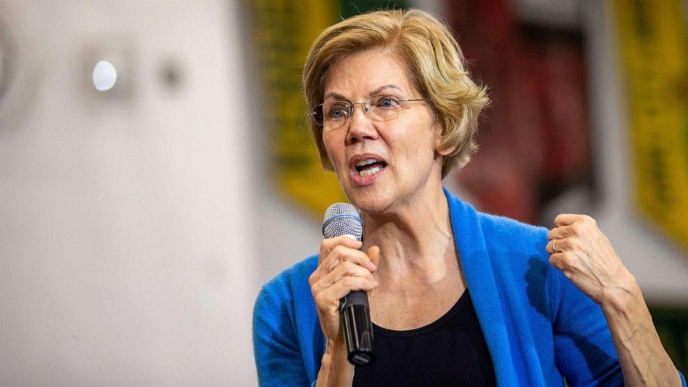 Vor der Debatte, Bloomberg spielt defense als Warren geht zum Angriff über