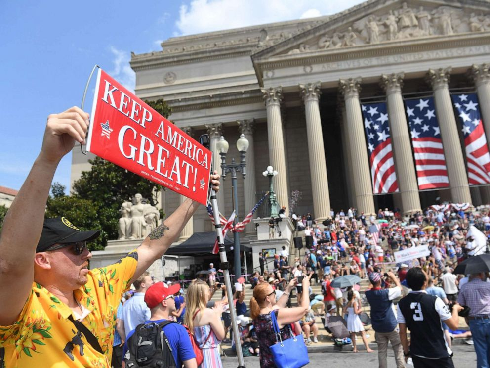 Trump's 'Salute to America' July 4th celebration not with