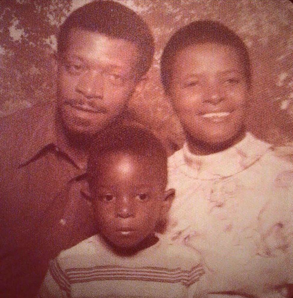 PHOTO: Mayor Wayne Messam is pictured with his mom Delsey and dad Hubert in an undated photo