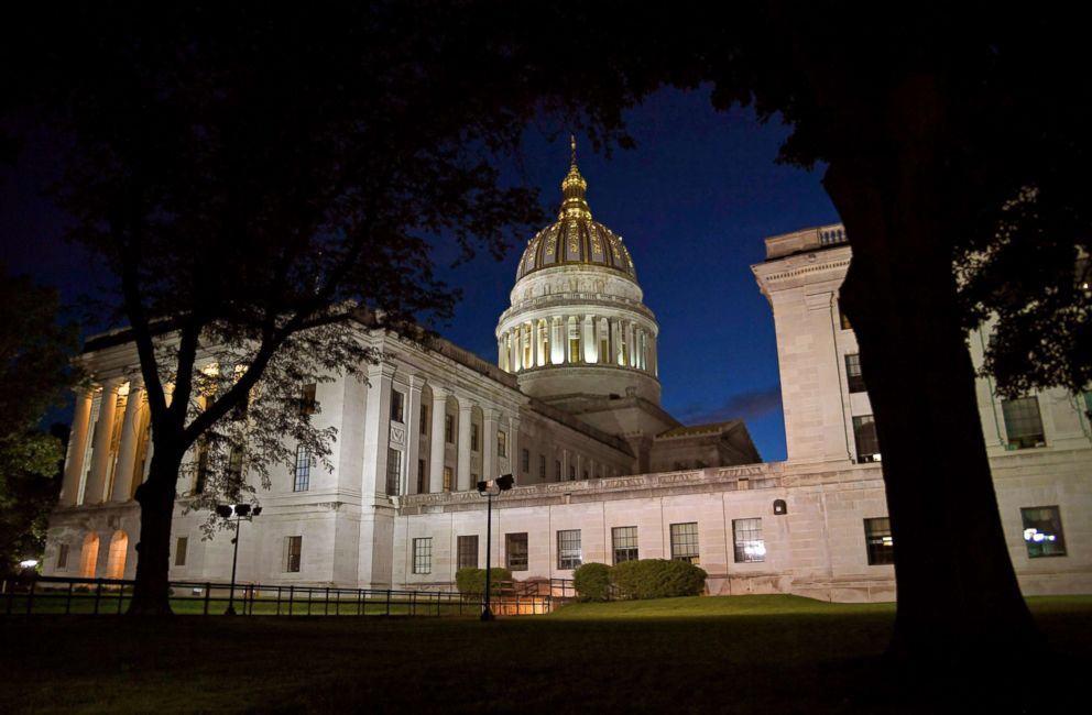 PHOTO: The West Virginia State Capitol building in Charleston is pictured on June 26, 2017.