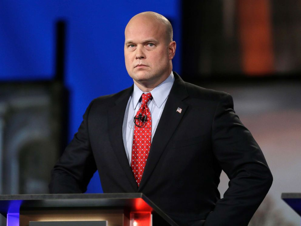New Acting Attorney General is a GOP Loyalist from Iowa