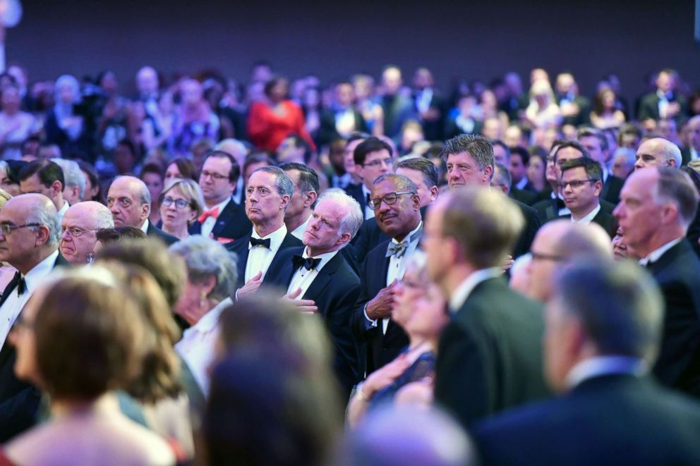 Follow the White House correspondents' dinner