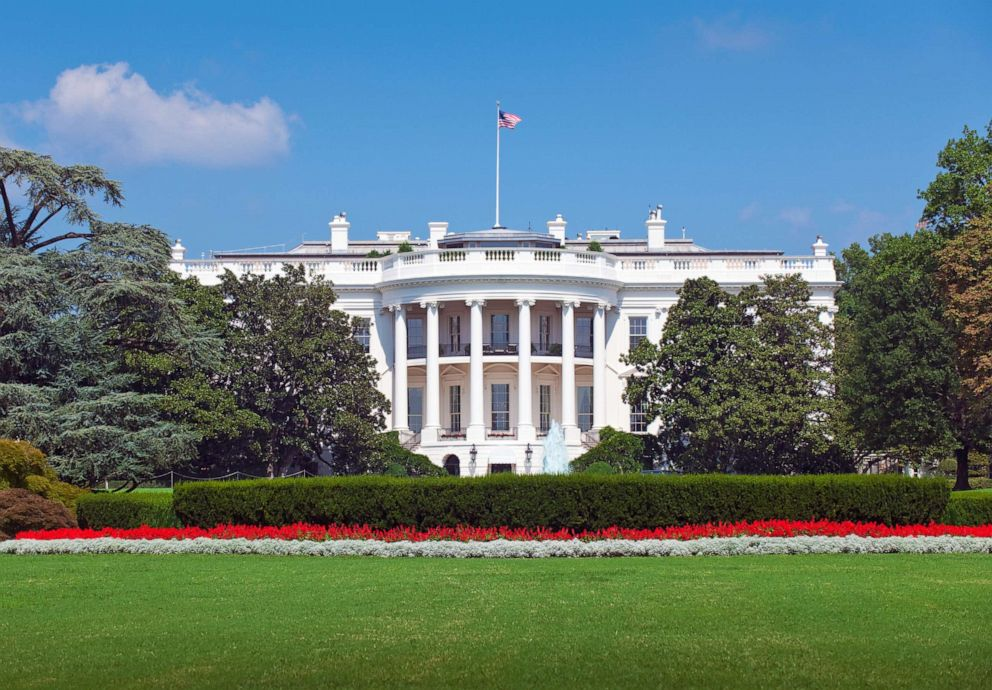 PHOTO: The exterior of the White House, in Washington is pictured in this undated stock photo.