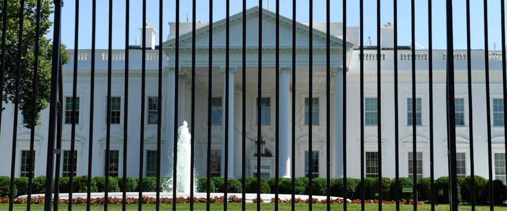 PHOTO: The fence surrounding the White House on Pennsylvania Avenue in Washington, Friday, May 24, 2019.