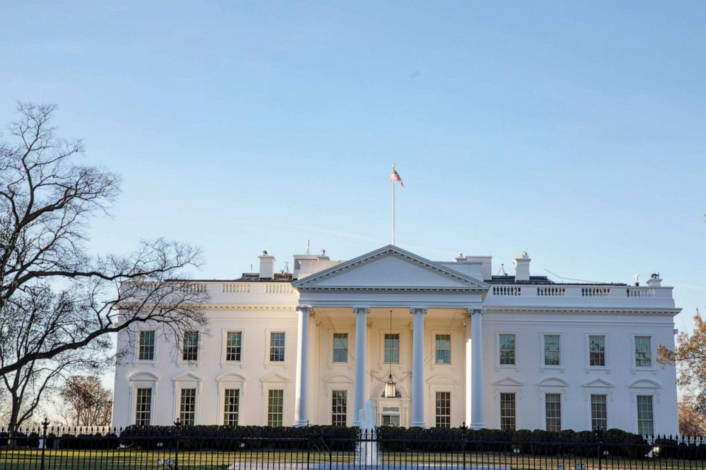 PHOTO: The White House is shown in this file photo on March 24, 2019 in Washington.