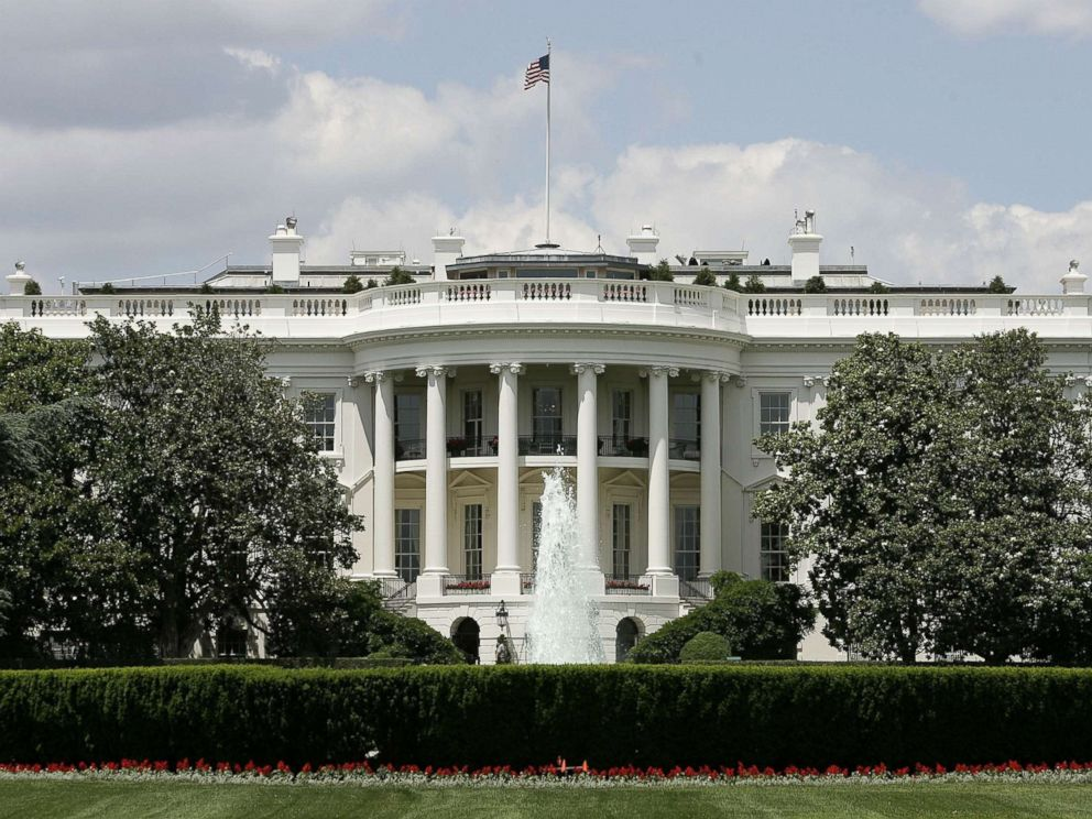 PHOTO: The exterior view of the south side of the White House in Washington.