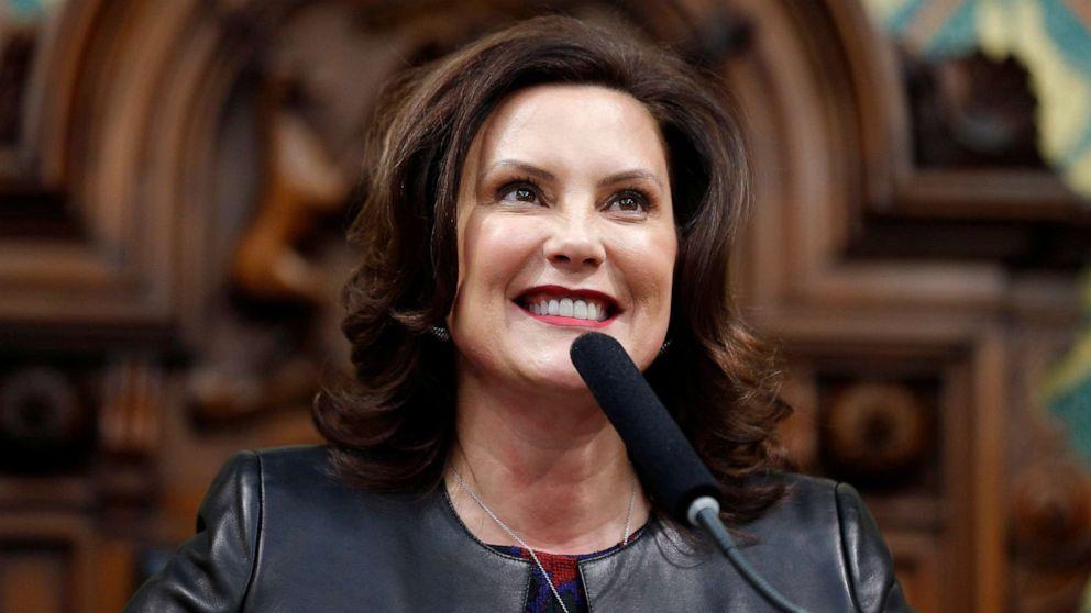 Michigan Gov. Gretchen Whitmer met with Biden amid VP selection process thumbnail