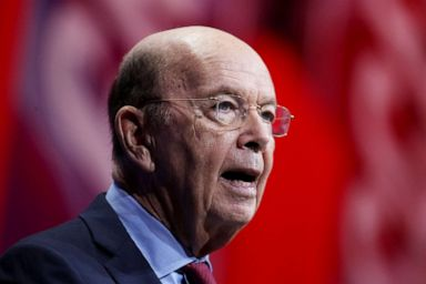 PHOTO: Secretary of Commerce Wilbur Ross speaks at an event in National Harbor, Md., June 22, 2018.