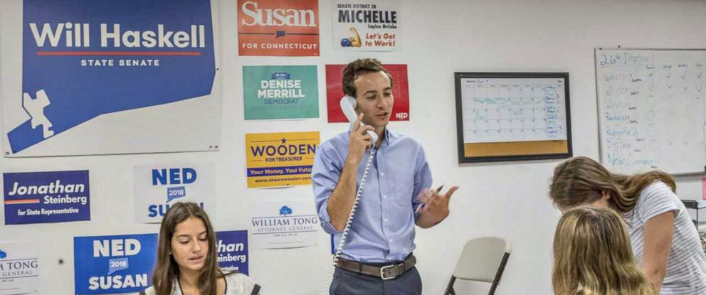 PHOTO: Will Haskell, 22, is the youngest candidate to be endorsed by former President Obama. He is running against Republican incumbent Toni Boucher in Connecticuts 26th district.