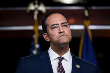 PHOTO: Rep. Will Hurd participates in a news conference on bipartisan legislation to address the Deferred Action for Childhood Arrivals (DACA) program and border security, Jan. 16, 2018.