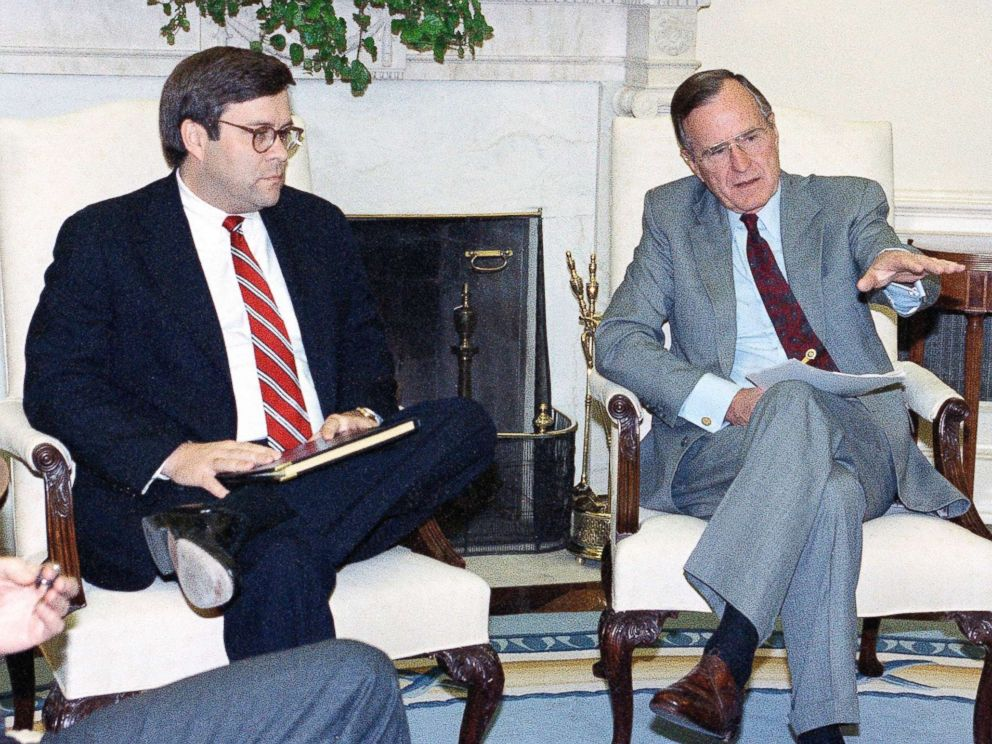 Former Attorney General William Barr contender for old job