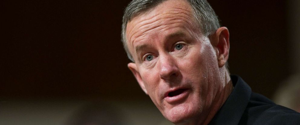 PHOTO: Vice Adm. William H. McRaven, nominated to be admiral and commander, U.S. Special Operations Command; during the Senate Armed Services hearing on his nomination in Washington, D.C., on June 28, 2011.
