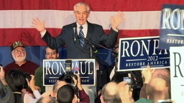 VIDEO: Republican candidates criticize Ron Pauls foreign policy views.