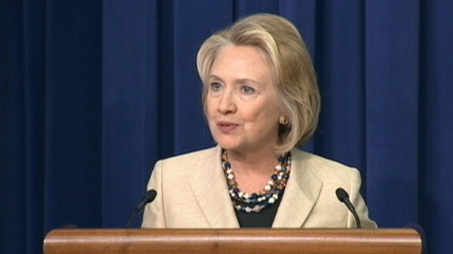 Hillary Clinton Discusses Syria, Partisanship, But Can't Avoid 2016 Talk
