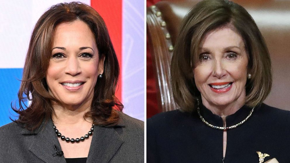 'Representation matters': With Kamala Harris and Nancy Pelosi, 2 women will share the dais behind a president during address to Congress for the first time ever tonight