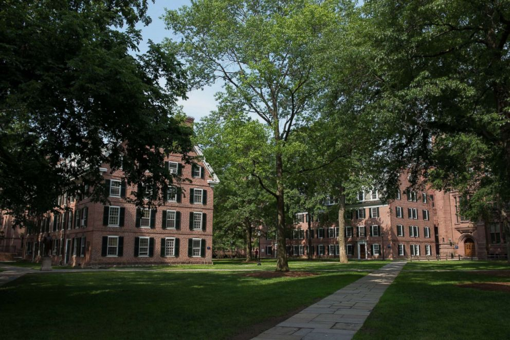 The Yale University campus in New Haven, Connecticut, June 12, 2015.