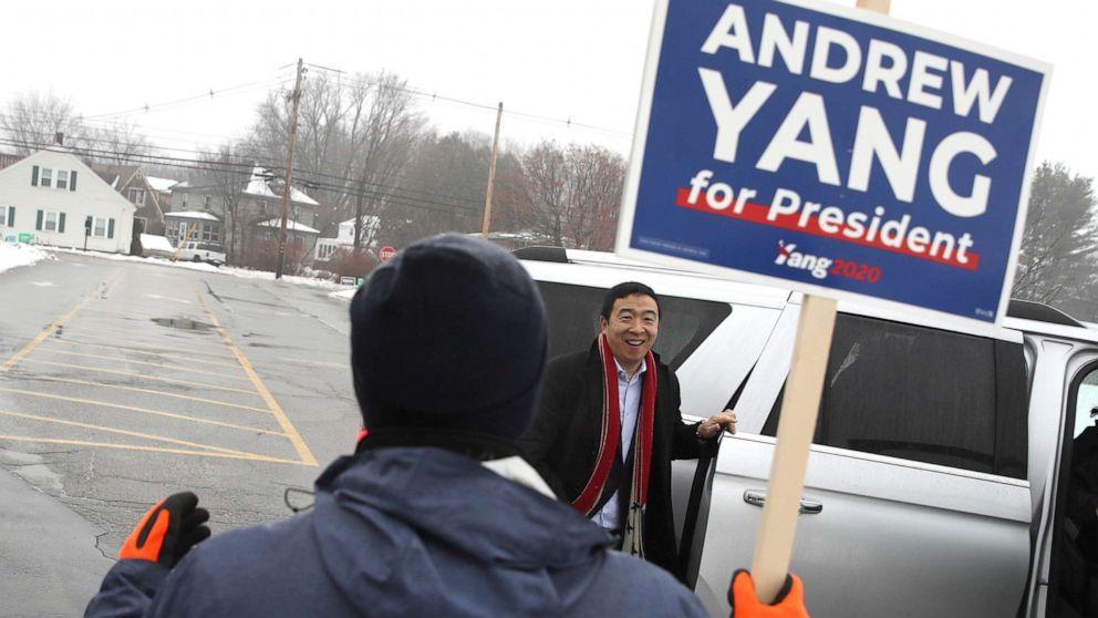Επιχειρηματίας Andrew Yang τελειώνει η προσφορά του για την προεδρία