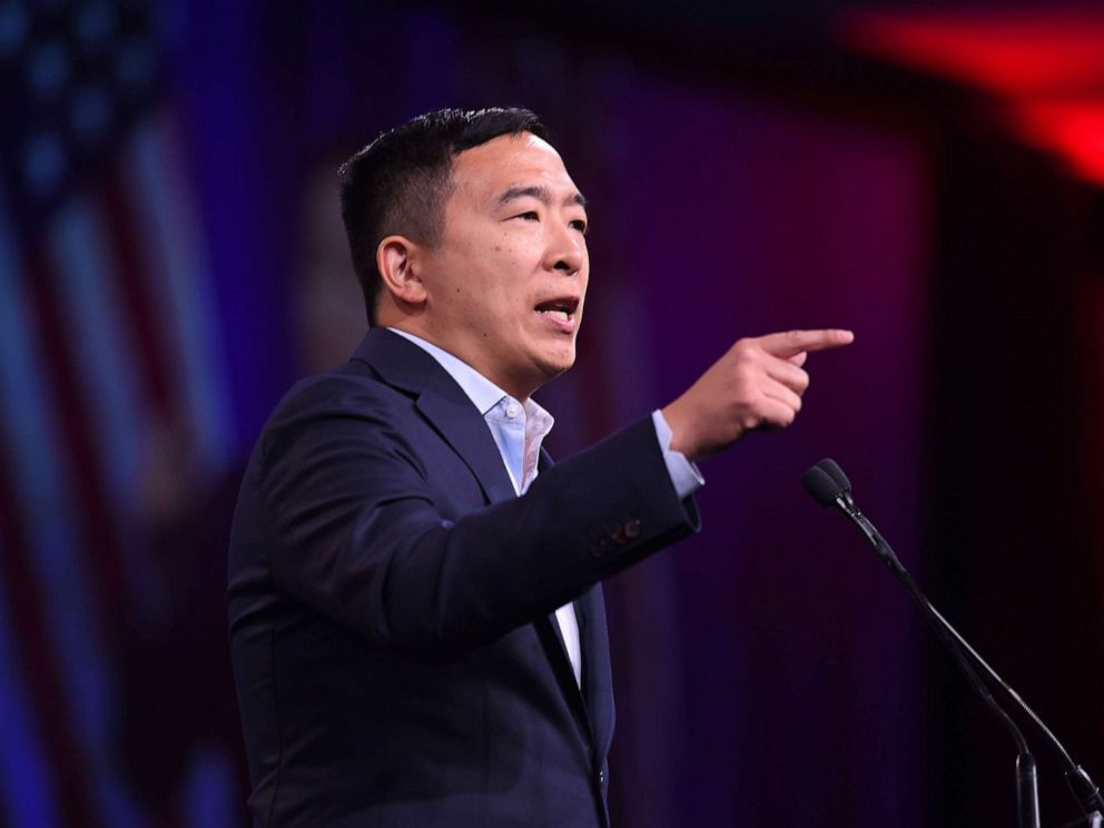Andrew Yang's speaking fees, including from JPMorgan, raise