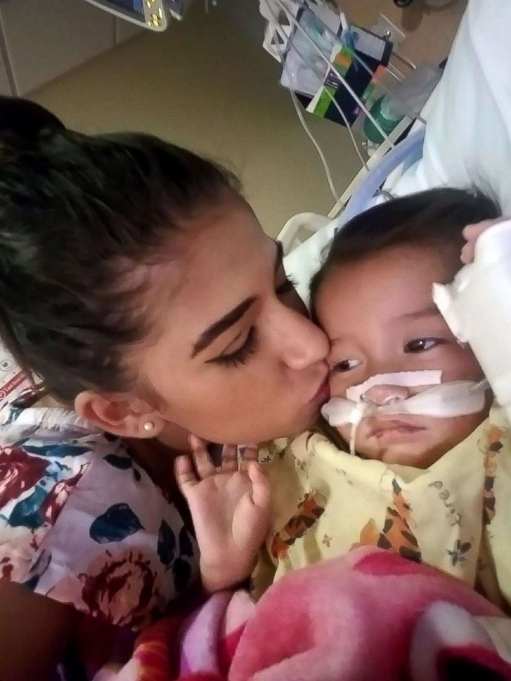 PHOTO: After they were released from ICE custody, Yazmin Juarez took her daughter Mariee to a hospital in New Jersey, where she died several weeks later.