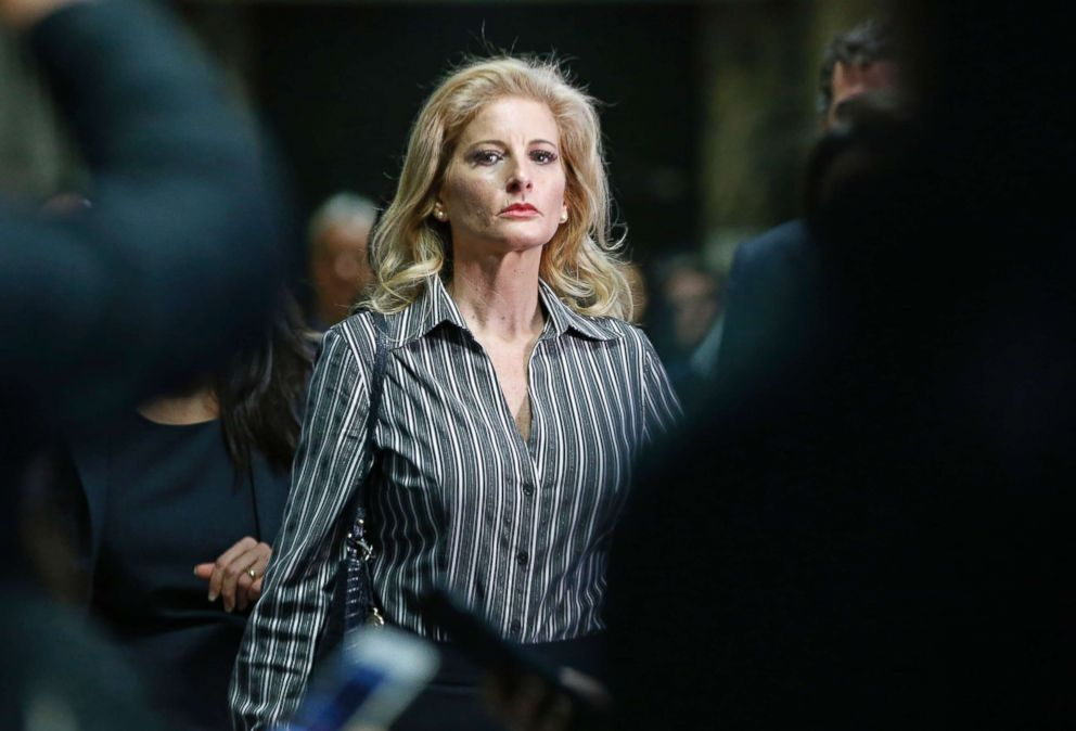 PHOTO: Summer Zervos, who is suing President Donald Trump in a defamation lawsuit, leaves Manhattan Supreme Court after a hearing in New York, Dec. 5, 2017.  Appeals Court denies Trump bid to get Summer Zervos defamation suit tossed zervos ap er 171212 hpEmbed 6 22x15 992
