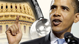 In Health Reform?s Hot Summer, Public Doubts are on the Rise, President Barack Obama, U.S. Capitol