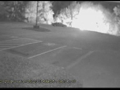 VIDEO: Store cameras catch killer stalking victim, 19; later, he buys gas, burns body.