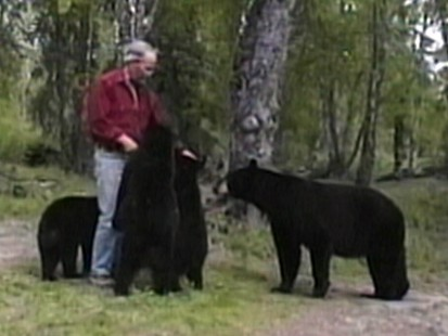 Bear-Lover Shares Home with Grizzlies