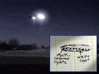 Strange Lights Seen over Illinois