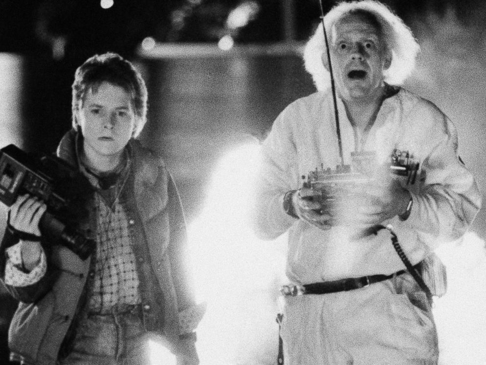 PHOTO: Michael J. Fox and Christopher Lloyd are pictured in a scene from Back to the Future.