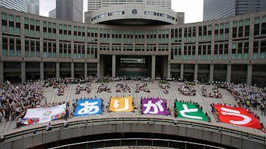 PHOTO: Tokyo wins bid to host 2020 Olympics