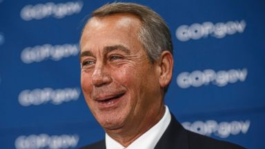 PHOTO: In this file photo, John Boehner is pictured in Washington, D.C. on Feb. 26, 2014.