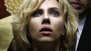 "PHOTO: Scarlett Johansson in a scene from ""Lucy."""